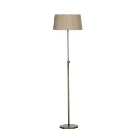 Hicks Floor Lamp Antique Brass