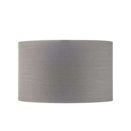 Highclere Charcoal 255mm Shade with Silver Inner