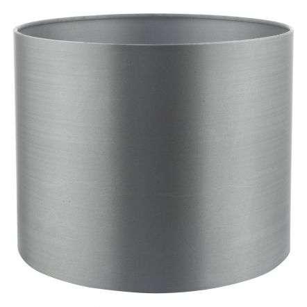 Hilda 12cm Faux Silk Shade Grey