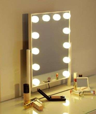 Hollywood Vanity 12W LED Pivot Mirror