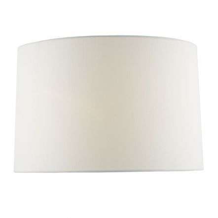 Honor Ivory Linen Drum Shade