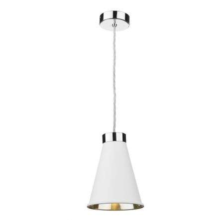 Hyde Single Pendant Polished Chrome (Other Colours Available)