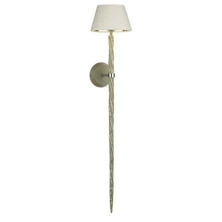 Ice Single Wall Light in Aged Grey Finish