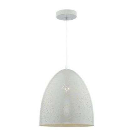Idris 1 Light Pendant White