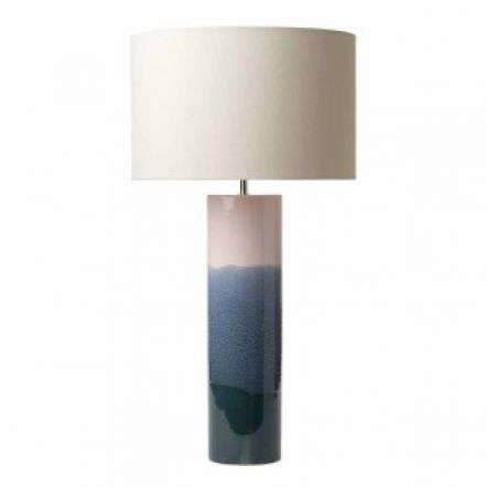 Ignatio Table Lamp Ceramic Pink & Blue Base Only