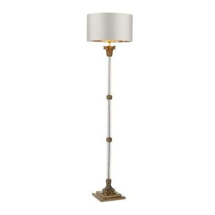 Imperial Floor Lamp Glass Bronze
