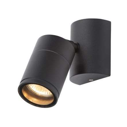 Islay Black Single Spotlight IP44