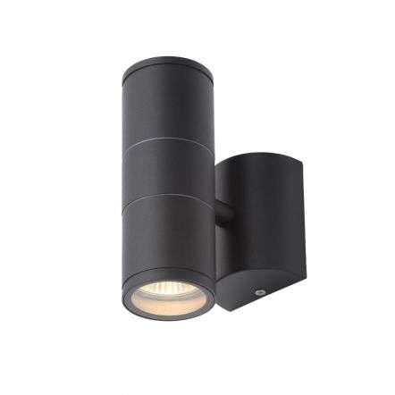 Islay Black Up & Down Wall Light