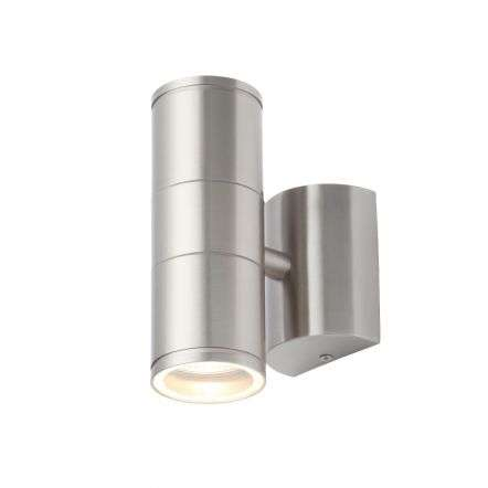 Islay Stainless Steel Up & Down Wall Light