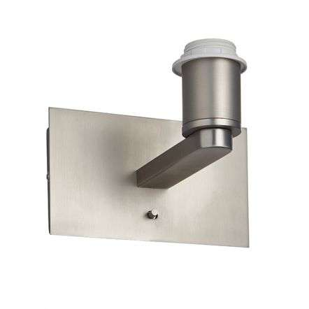 Issac USB Wall Light in Matt Nickel Finish