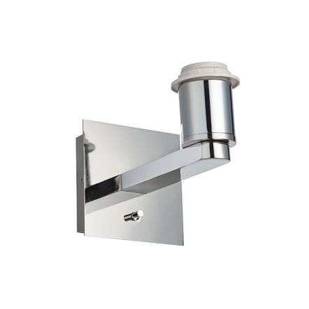 Issac Wall Light in Polished Chrome Finish