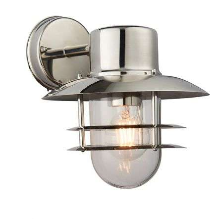 Jenson Outdoor Wall Light with PIR IP44