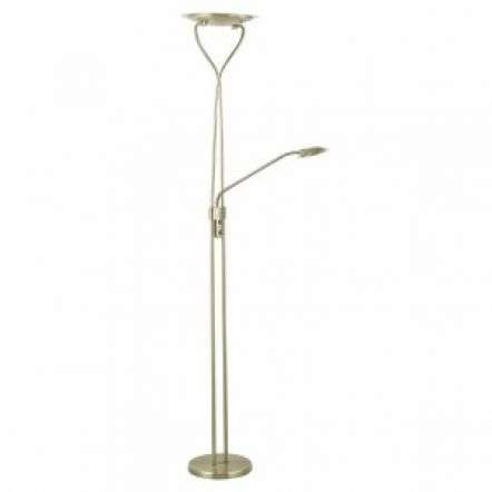 Klaus Mother And Child LED Floor Lamp Antique Brass