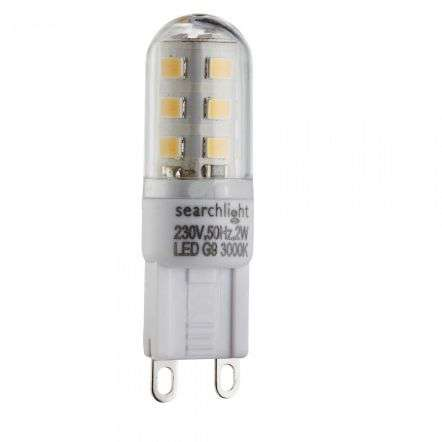 LED G9 2W Dimmable Warm White LED Bulb