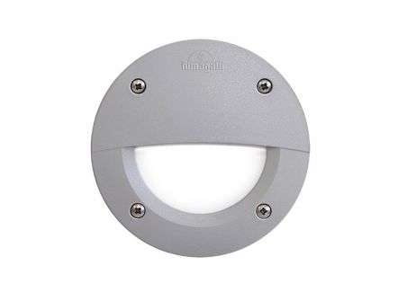 Leti 100 Round Recess Wall Light Grey