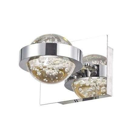Livia Wall Light Polished Chrome Led