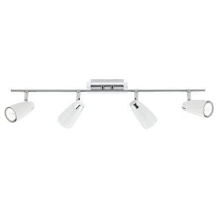 Loft 4 Light Bar White