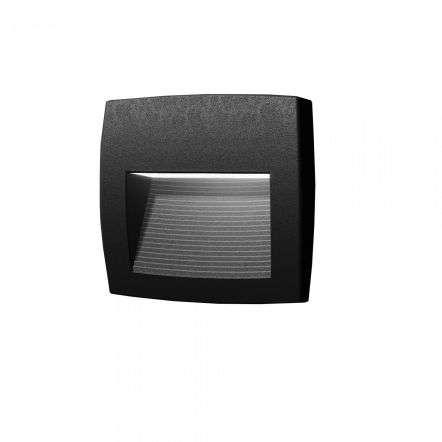 Lorenza 190 4W Black Surface Mounted Wall Light