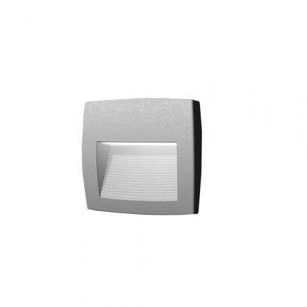 Lorenza 190 4W Grey Surface Mounted Wall Light