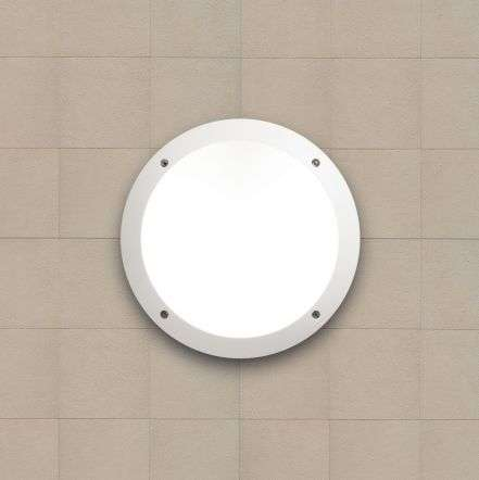 Lucia LED Fumagalli Wall & Ceiling Bulkhead White | Online Lighting Shop
