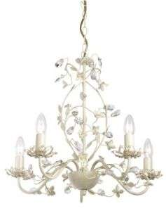 Lullaby 5-Light Cream Fitting
