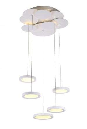 Luna Adjustable Multiple Pendant Ceiling LED Light