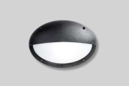 Maddi 18W Bulkhead with Horizontal Eyelid Black