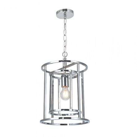 Magnalux CHE01CH Chester Lantern 1 Light Pendant Polished