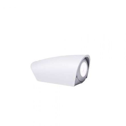 Mamete Round LED 1.7W Single Wall Light White