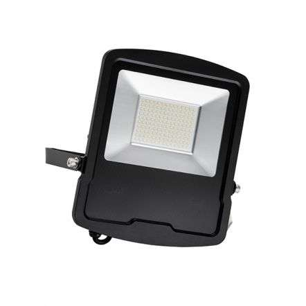 Mantra Black Floodlight IP65 100W Daylight White