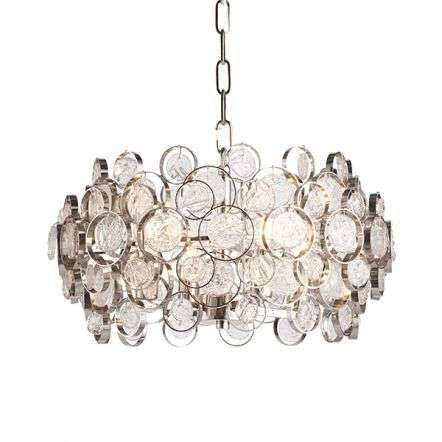 Marella 4 Light Pendant in Nickel Finish