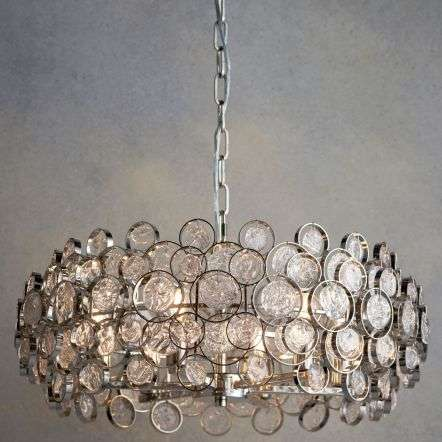 Marella 6 Light Pendant in Nickel Finish