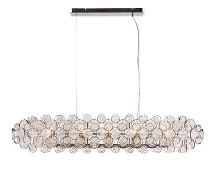 Marella 8 Light Pendant in Nickel Finish