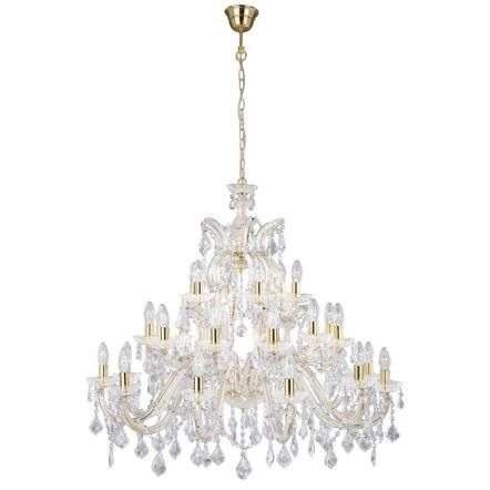Marie Therese 1214-12+12+6 Crystal Chandelier Dia95