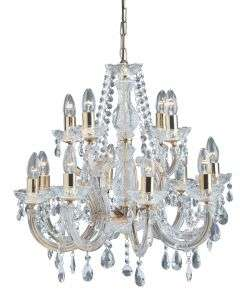 Marie Therese 12-Light Crystal Fitting