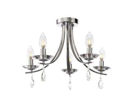 Marquis by Waterford Brandon 5 Light Semi Flush IP44