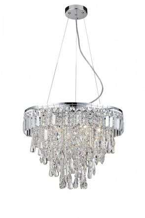 Marquis by Waterford Bresna 6 Light Bathroom Pendant Chrome