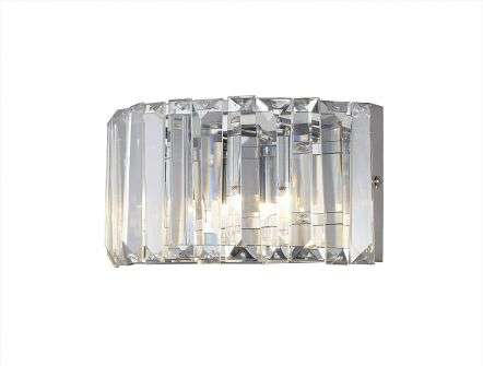 Marquis by Waterford Foyle IP44 Crystal Wall Light