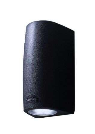 Marta 90 2 Light Up and Down Black | Online Lighting Shop