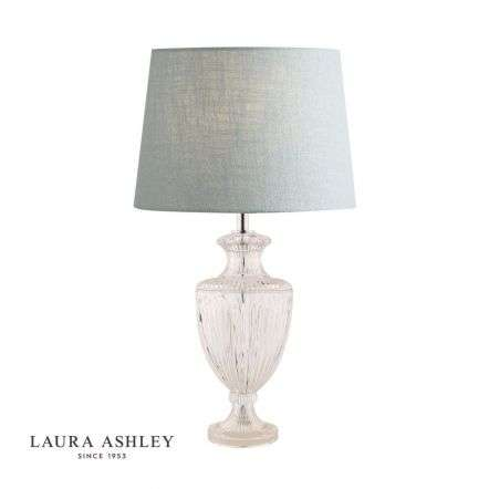 Meredith Cut Glass Crystal Urn Table Lamp Base Large