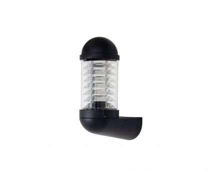 Minus Bollard Style Wall Lantern Black