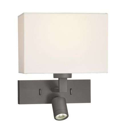 Modena Wall Light With LED In Bronze (Bracket Only)
