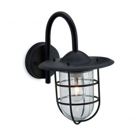Modern Black Outdoor Garden Wall Light