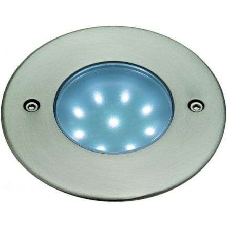 Modern Brushed Steel Ceiling Hallway LED Downlighter