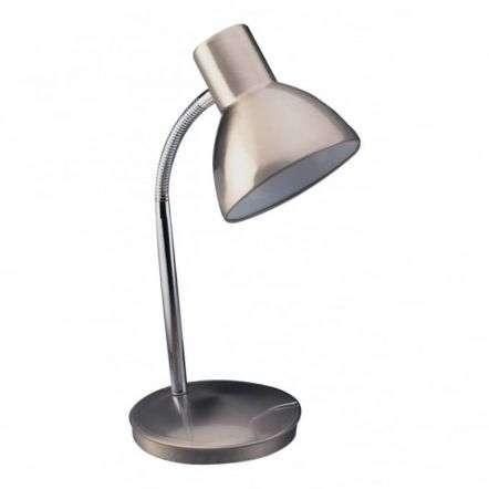 Modern Brushed Steel Havard Table Lamp