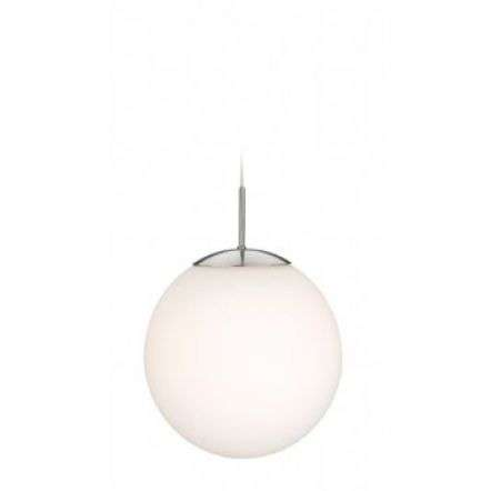Modern Chrome Opal Glass Ceiling Light Pendant
