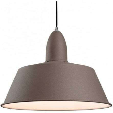 Modern Concrete Dome Shade Ceiling Light Pendant