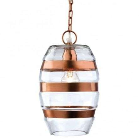 Modern Copper Ceiling Light Pendant