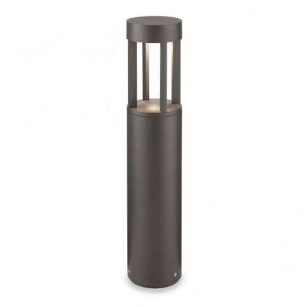 Modern Graphite Bollard Garden Light