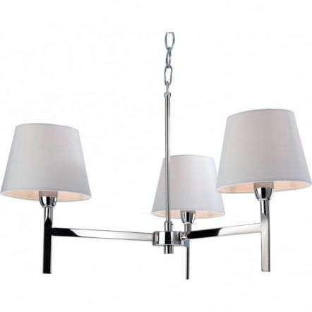 Modern Polished Chrome Ceiling Chandelier Light